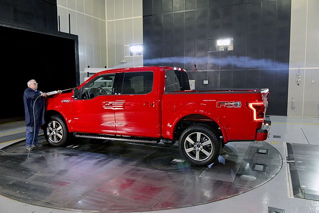 F-150 Windtunnel Test