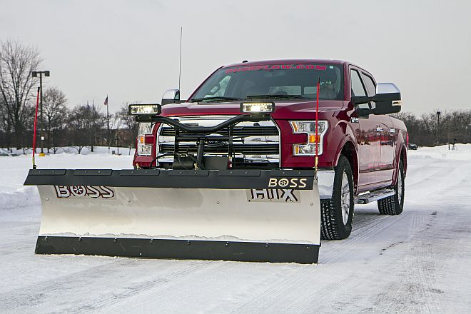 Ford F-150 Snow Plow Work Truck
