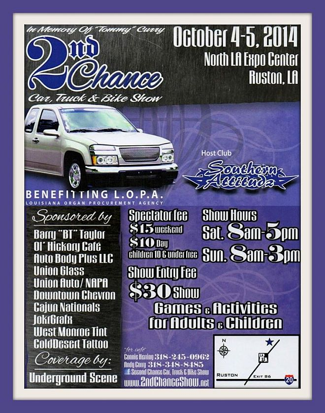 2nd Chance Car, Truck and Bike Show 2014