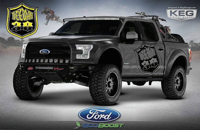 Ford F-150 38 Special SEMA Truck