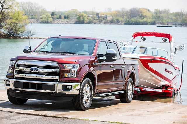 Ford -F-150 Trailer Assist Boat Image