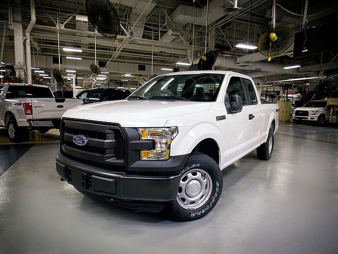 Ford F-150 Compressed Natural Gas 2016