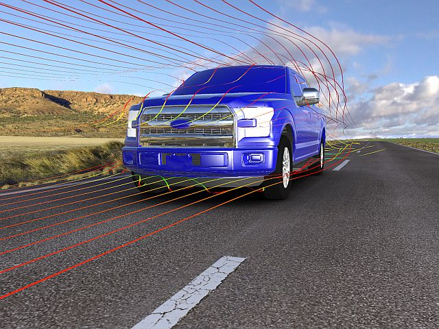 F-150 Aerodynamics Visual