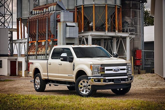 2017 Ford F-350 King Ranch Super Duty Truck