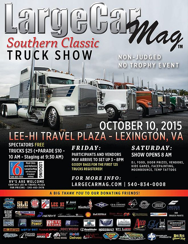 LCM Southern Classic Truck Show 2015
