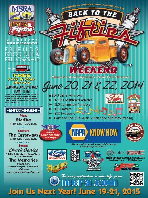 Back to the Fifties Weekend 2014