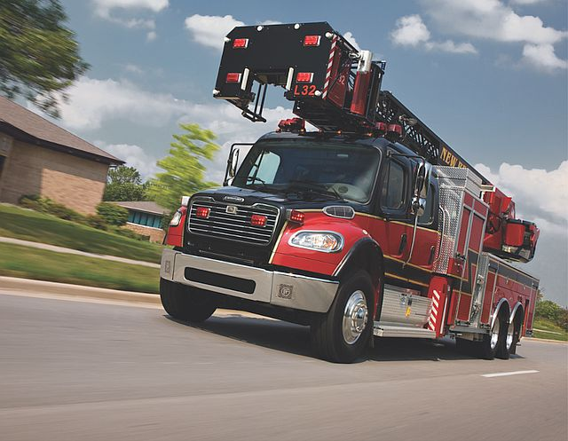 Freightliner Trucks fire and emergency
