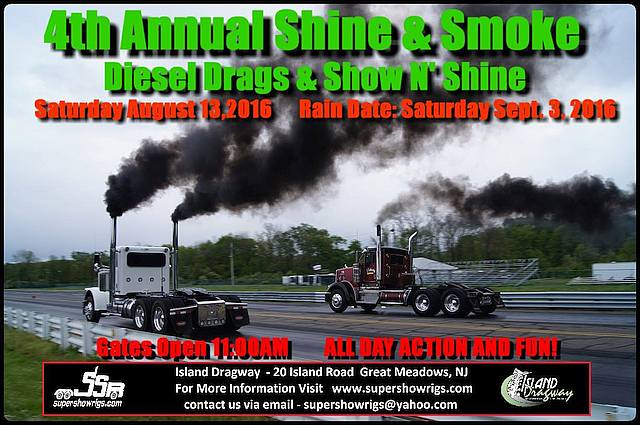 Shine & Smoke Show & Drags 2016